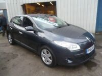 Renault MEGANE TomTom DCI,5 door hatchback,1 previous owner,runs and drives well,£30 road tax