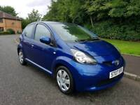 2007 TOYOTA AYGO 1.0 5 DOOR * 20 pounds per year road tax *