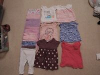 Baby Girl 3-6 months bundle of clothes.