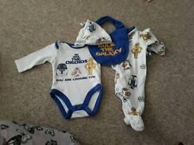 Baby boy newborn bundle