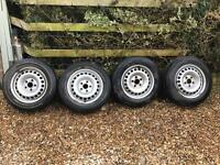 """VW transporter steel wheels 16"""""""