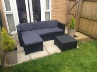 Corner sofa/ turns into a 3 seater sofa also