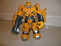 "Transformers Bumblebee Electronic Talking 10"" Action Figure 2009 Hasbro"