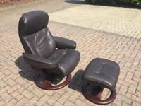 Quality John Lewis Leather Chair