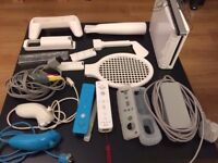 Wii, Wii board and many other accessories