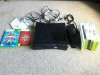 Xbox 360 and 9 games