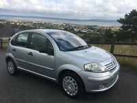 Citroen C3 5 Door HDI SX 1.4 Diesel Silver only 52488 with 5 Service History Long MOT £30 Tax