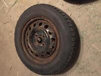 Toyo winter tires almost new 185/65/14