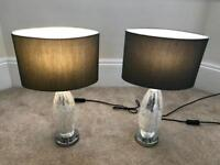 SOLD - Pair of Next table lamps