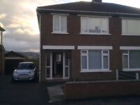 675pcm, East Belfast, Orangefield Road, 3 bed, semi, garden decking, parking, modern, gas heating