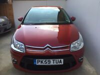 2009 59 CITROEN C4 VTR+HDI 1.6 5 DOOR 1 PREVIOUS OWNER 90K FSH HPI CLEAR PX WELCOME