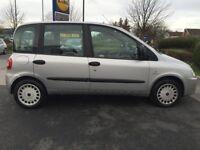fiat multipla dynamic 1.9 jtd diesel 2005 silver 6 seater full history just ad new full clutch