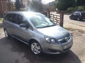 VAUXHALL ZAFIRA ESTATE SPECIAL EDITIONS- 1.6i Energy 5dr, 2010