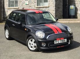 Mint 2011 Mini Cooper D, £0 road tax, £5000 of factory extras, trade in welcome, credit cards taken
