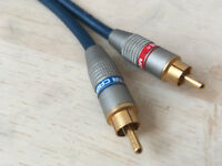 AudioQuest 300 1ft RCA interconnect Cables