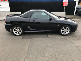 mgf tf with hard top full leather alloys part history future classic new hood and hard top