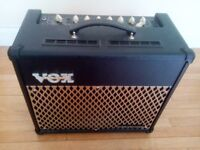 vox amp vt-30 plus free laney 30w amp please read ad