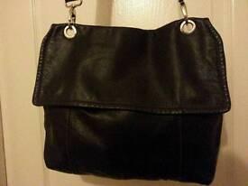 Man bag and small leather bag