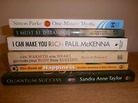 6 inspirational self help books