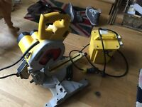 DeWalt Mitre Saw 110V with Transformer