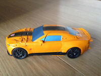 Rare Bumblebee Camaro sports car transformer toy