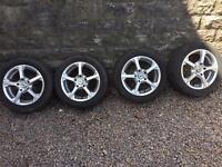 BK Racing alloys 15in 5x114.3