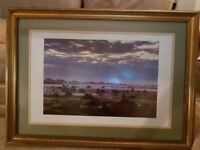 Large atmospheric photograph of Dartmoor