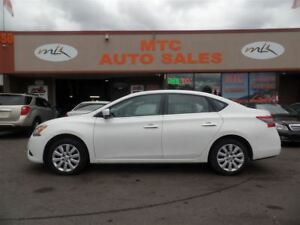 2013 Nissan Sentra 1.8 S, LOW KM, FUEL EFFICIENT