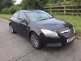 VAUXHALL INSIGNIA 2.0CDTI AUTOMATIC HALF LEATHER BLACK ELITE GOOD CAR