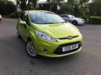 2010 AUTOMATIC FORD FIESTA TITANIUM 1.4 5DR, ONLY 36K MILES, 1YR MOT, FULLY LOADED, MINT BARGAIN!!!