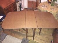 Lovely folding gateleg dining table