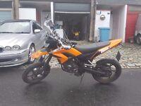 KSR Supermoto TW 125cc Road Legal Motorbike - £1200