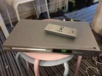 Silver Phillips DVD Player