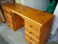Pine Dresser with drawers.