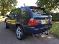 BMW X5 3.0D MANUAL 6 SPEED 2005 55, 82000 MILES, SERVICE HISTORY WITH RECEIPTS, 2 FORMER KEEPERS