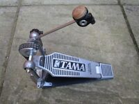 Drums - Tama Powerglide Bass Drum Pedal - Twin Chain - Very Clean - Silent Action