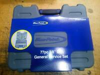 Blue point 77 piece socket service set BRAND NEW