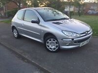 2007 PEUGEOT 206 only 1.4 MOT UNTIL MAY 2017
