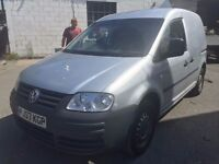 2007 Volkswagen Caddy, starts and drives well, MOT until March 2017, van located in Gravesend Kent,