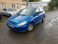 2005 Peugeot 307 2.0 HDI 2.0 diesel 5 speed manual
