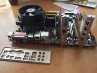 Asus p5b plus motherboard Intel® Quad-core all included