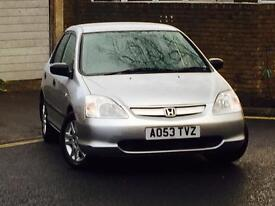 HONDA CIVIC 1.6 i-VTEC INSPIRE*FULL SERVICE HISTORY (13 STAMPS IN THE BOOK)*LONG MOT*FREE WARRANTY*