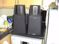 Sony La Scala QS Quality Range - SA-S1 Electrostatic Speakers.