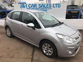 CITROEN C3 1.2 VTR PLUS 5d 80 BHP A GREAT EXAMPLE INSIDE AND (silver) 2014