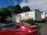 Immaculate static caravan on 12 month owners only park in Caerwys North Wales