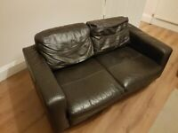 Brown Leather Couch (FREE) Collection only