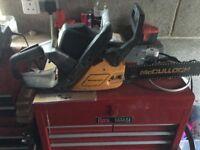 mccullough chainsaw 438
