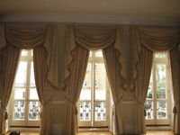 3 Sets of Luxury Silk Curtains