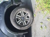 Brand new 18 inch fx4 rims tires