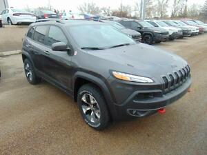 2017 Jeep Cherokee Trailhawk Leather Plus 4x4